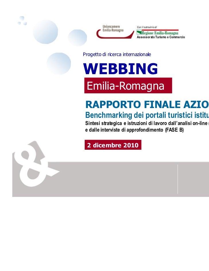 I Portali Turistici Governativi Europei - Webbing Emilia Romagna