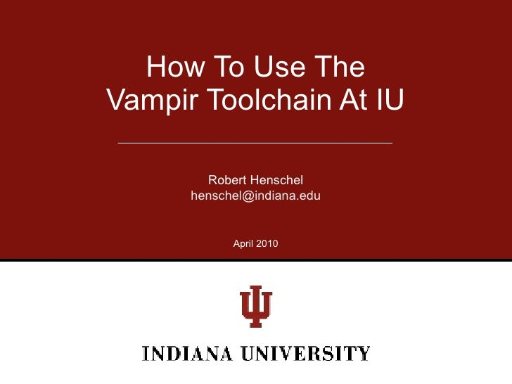 2010 vampir workshop_iu_configuration