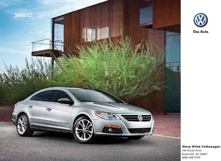 2010 Volkswagen CC Brochure - Greenville Columbia SC