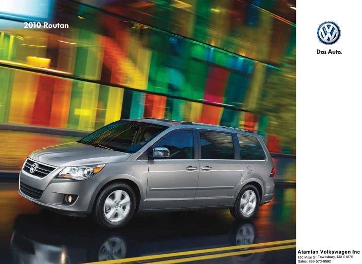 2010 Volkswagen Routan Boston