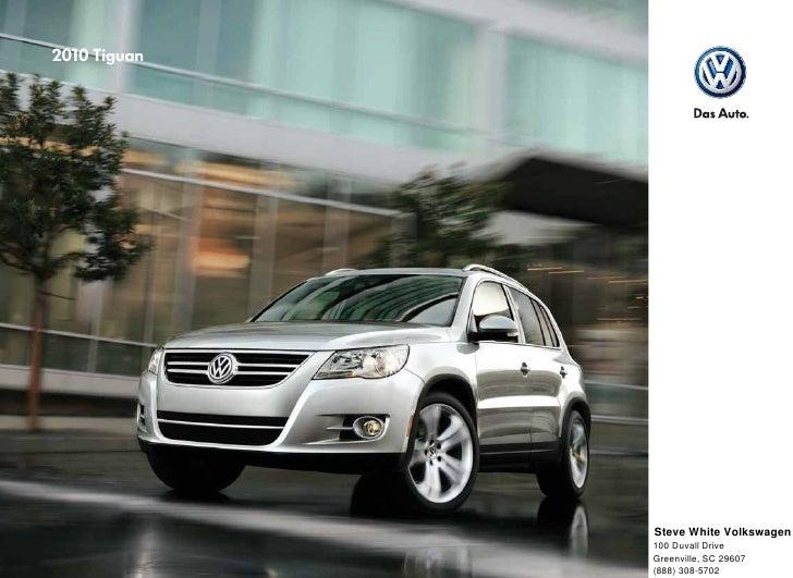 2010 Volkswagen Tiguan Brochure - Greenville Columbia SC