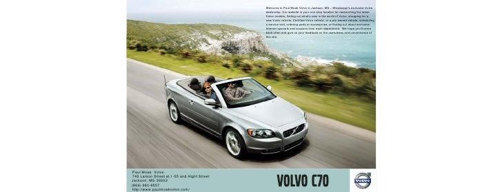 2010 Volvo C70 Jackson