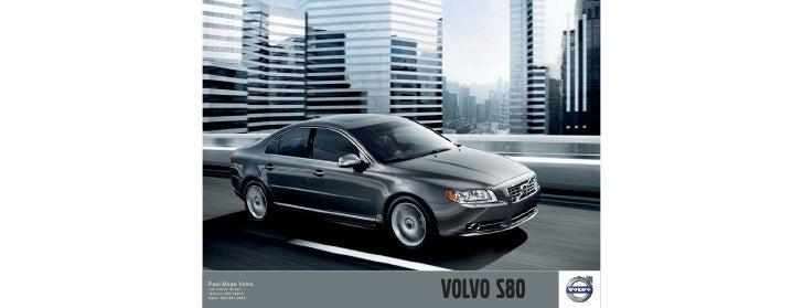 2010 Volvo S80 MS