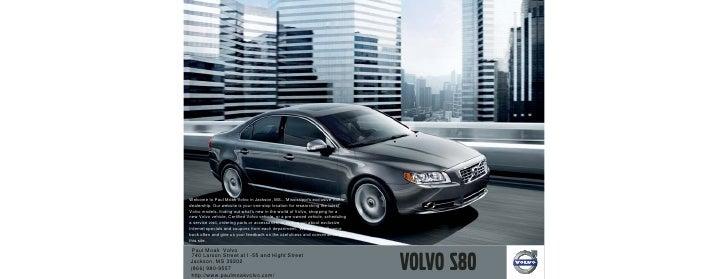 2010 Volvo S80 Jackson