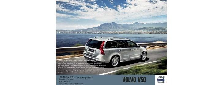 2010 Volvo V50 Jackson