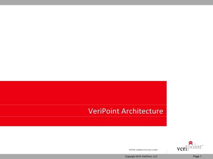 VeriPoint Architecture
