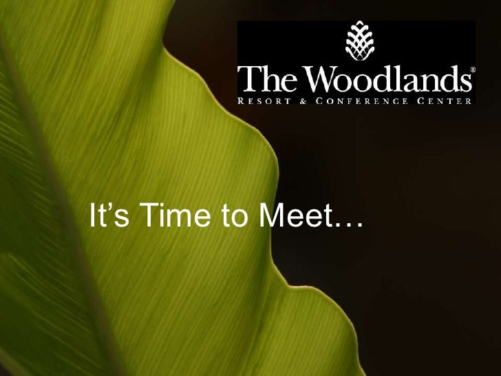 Welcome to The Woodlands Resort & Conference Center
