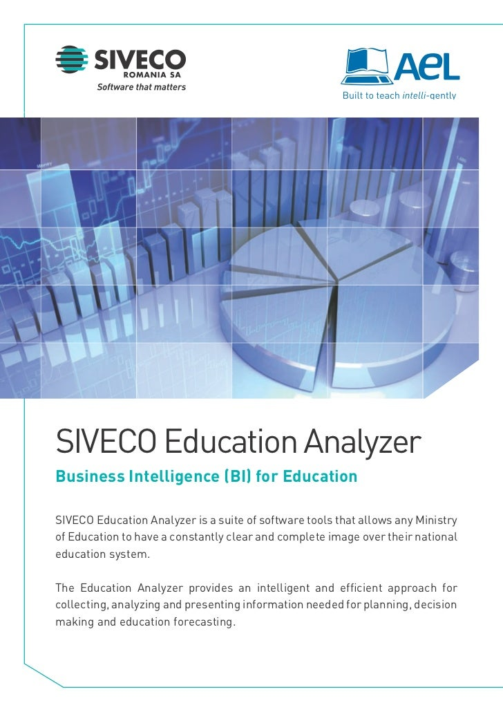 Business Intelligence for Education