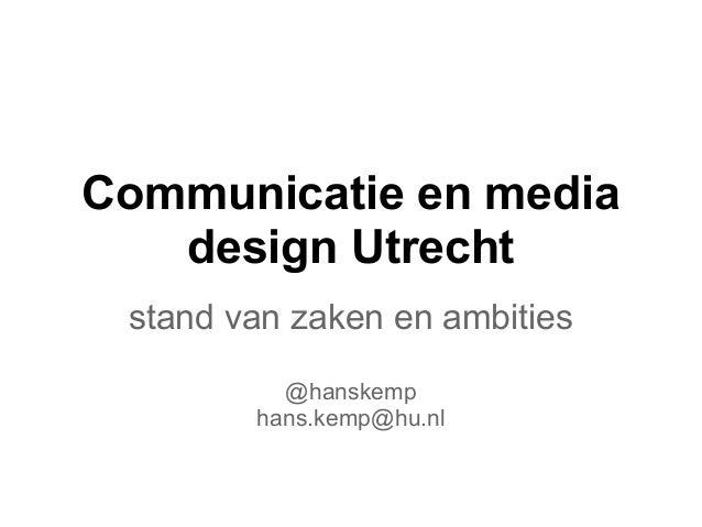 Hans Kemp @ Leren van en over contentstrategie
