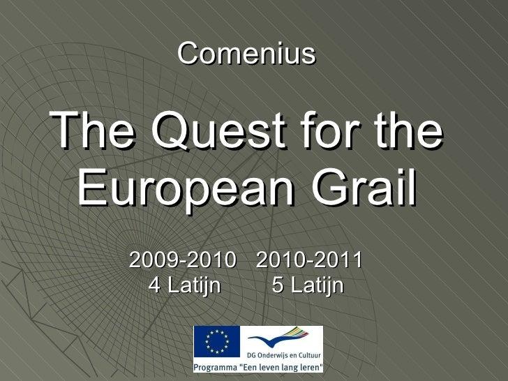 Comenius meeting Belgium