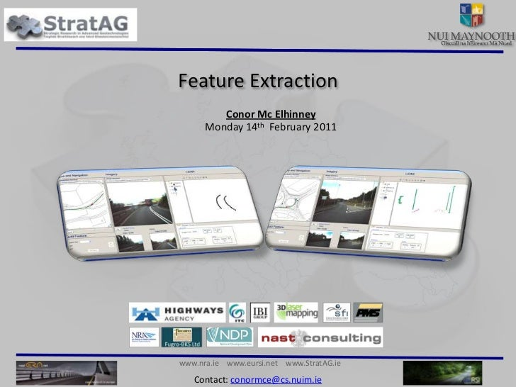 LiDAR feature extraction