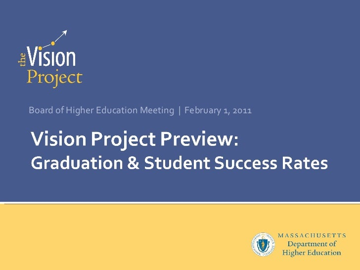 Vision Project Preview: College Completion