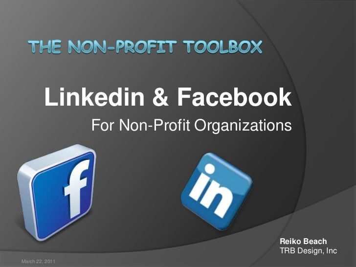 Effectively use LinkedIn & Facebook for Non-Profit Organizations
