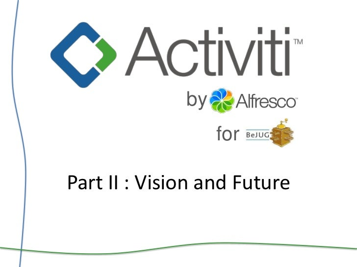 by<br />for<br />Part II : Vision and Future<br />