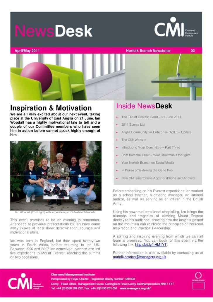 April/May 2011                                                            Norfolk Branch Newsletter                     0...