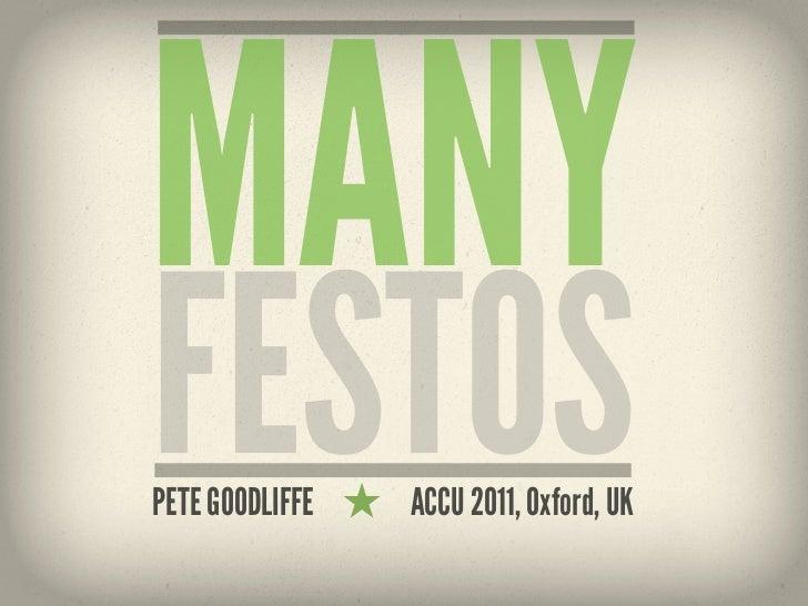 Manyfestos