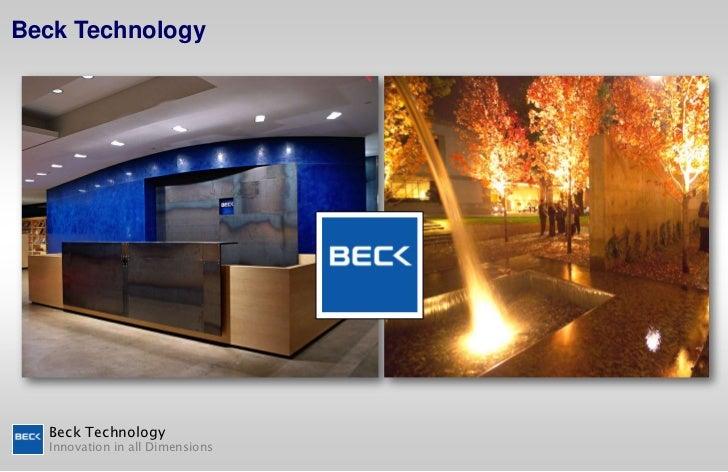 Beck Technology<br />