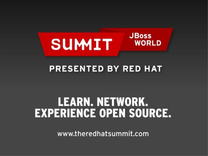 Event-driven BPM the JBoss way