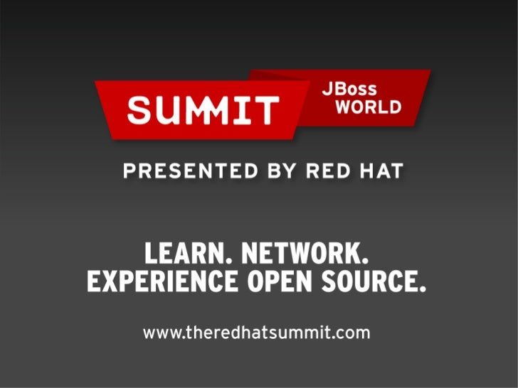 Event-driven BPM the JBoss way