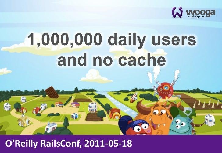O'Reilly RailsConf, 2011-‐05-‐18