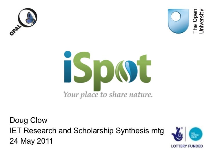 iSpot for IET Synthesis Meeting