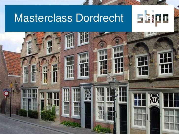 Masterclass Dordrecht<br />