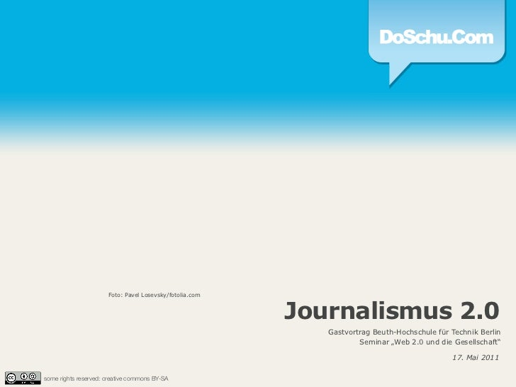 Journalismus 2.0 :: Gastvortrag Mai 2011
