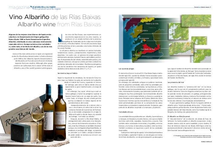 magazine { { the productsu región            el producto y                          and its region                        ...