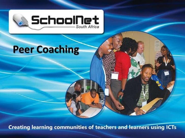 Omashani Naidoo: Peer coaching