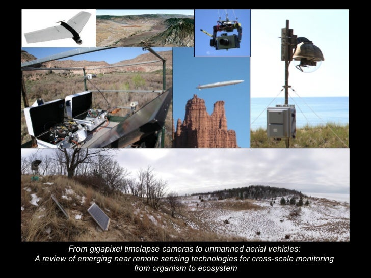 From gigapixel timelapse cameras to unmanned aerial vehicles to smartphones: a review of emerging near remote sensing technologies for scaling from organism to ecosystem