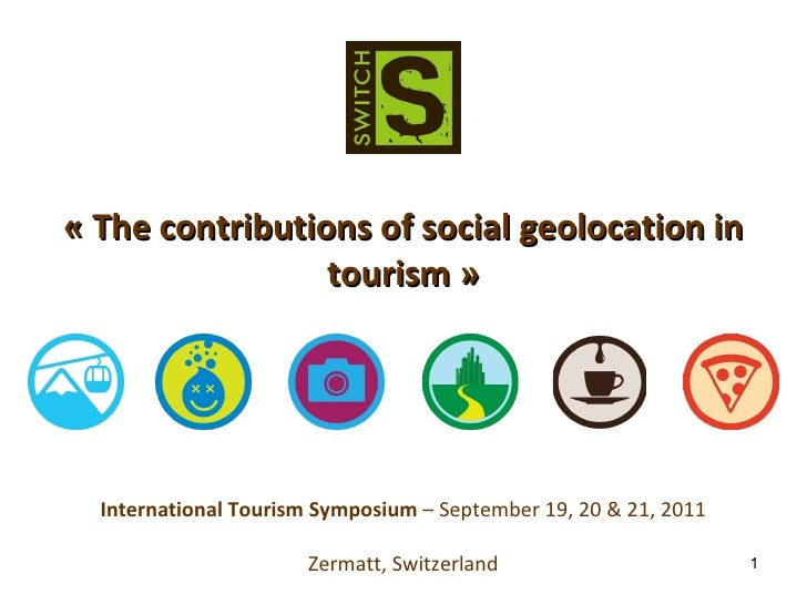 The contributions of social geolocation in tourism
