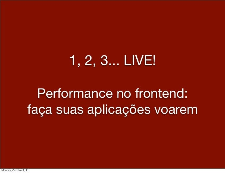 1,2,3 live! fronted optimizations @ guru sc - 2011.10.01