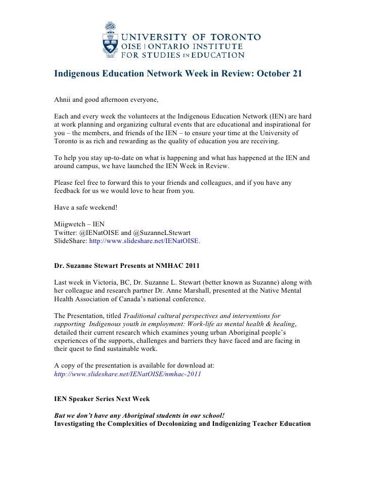 2011 10-21 ien week in review