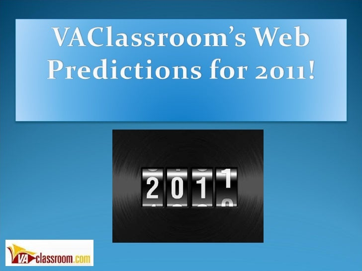 2011 Internet Marketing Predictions Event