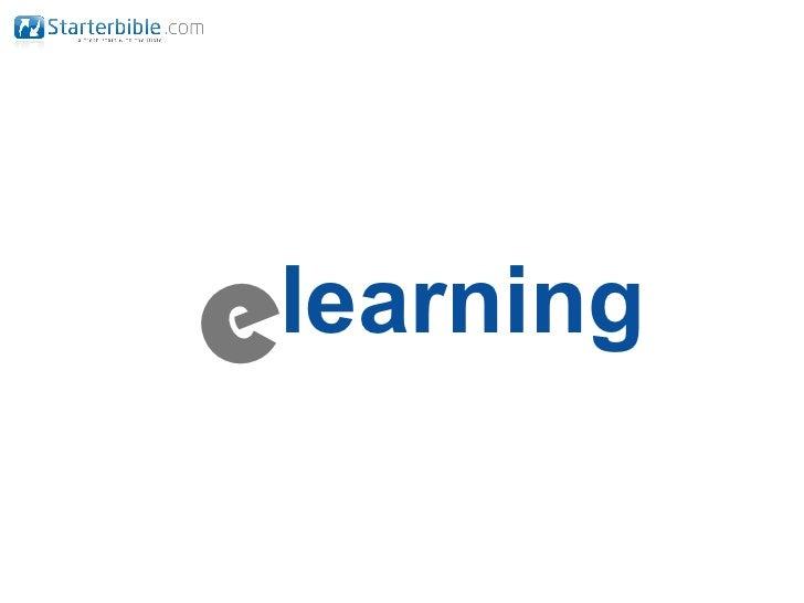 eLearning - seminar @ministrynet 2011
