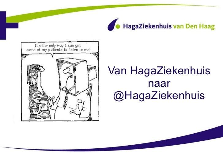 Van HagaZiekenhuis naar @HagaZiekenhuis