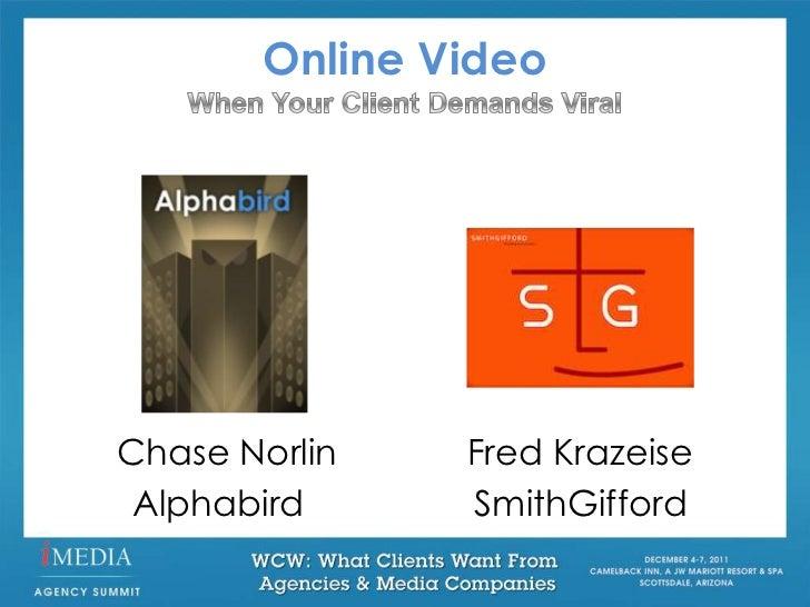 Online VideoChase Norlin   Fred Krazeise Alphabird     SmithGifford