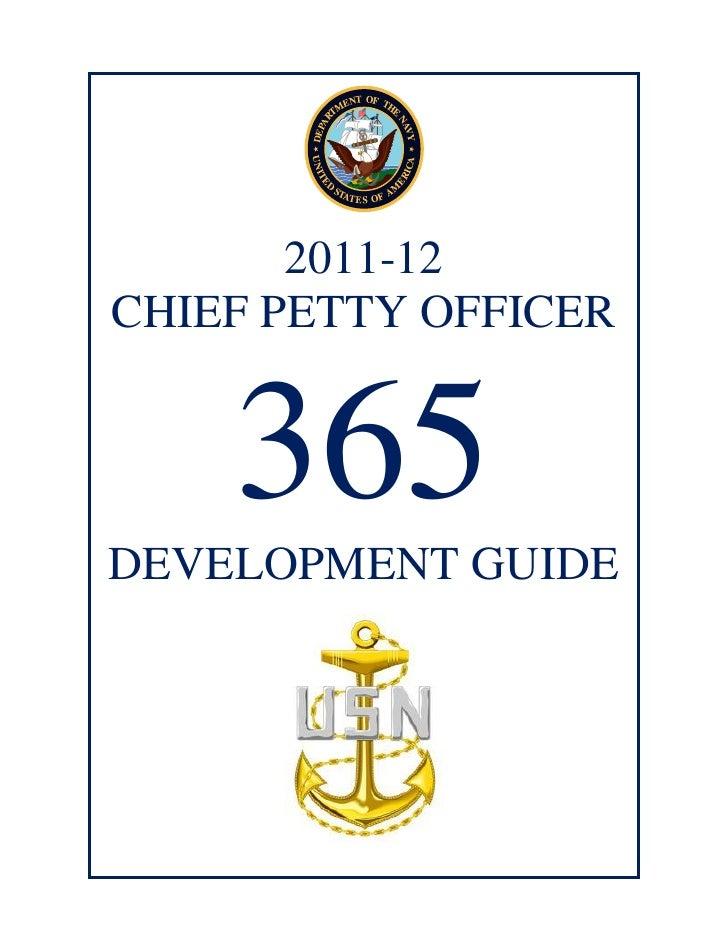 2012 Navy Region NW FCPO Symposium (CPO 365)