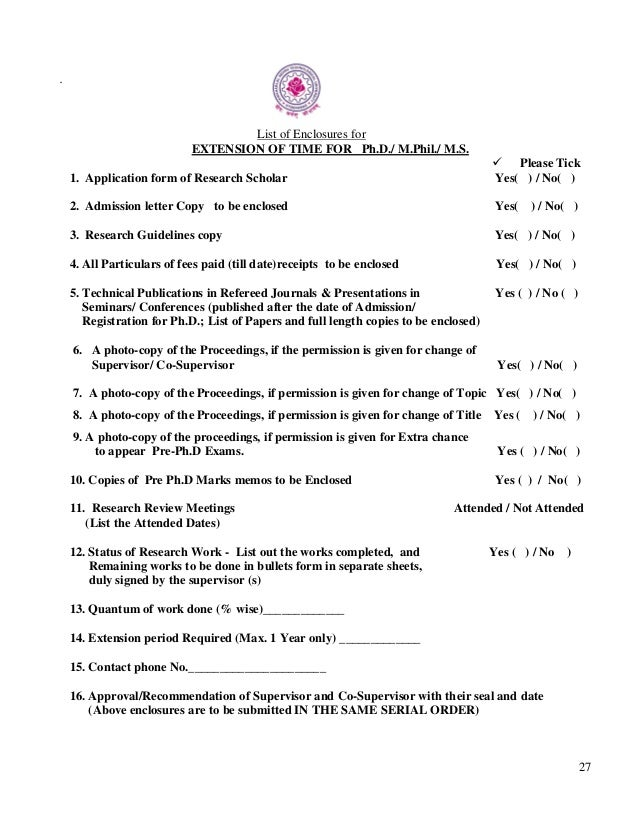 Dissertation Committee Request Letter