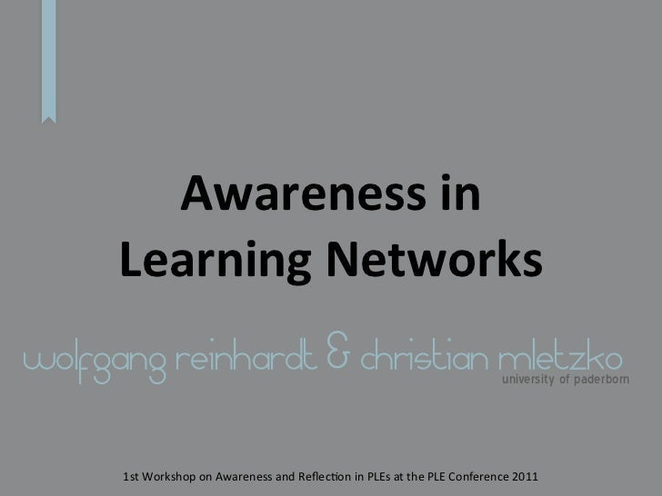 Awareness in Learning Networks