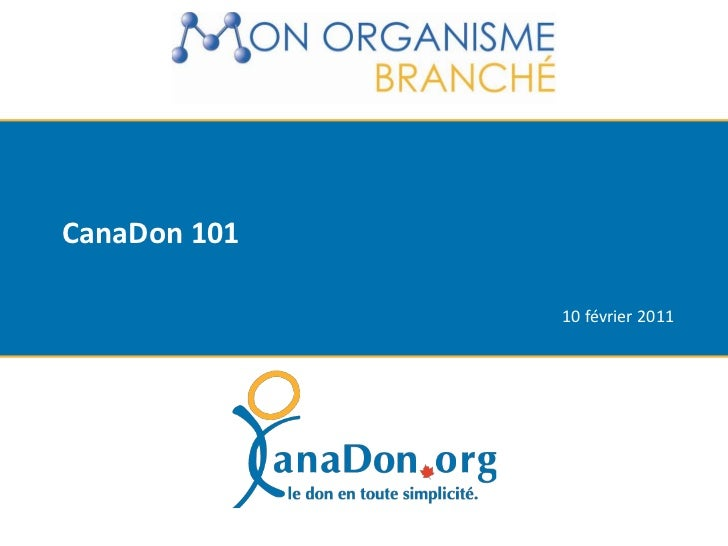 CanaDon 101<br />10 février 2011<br />