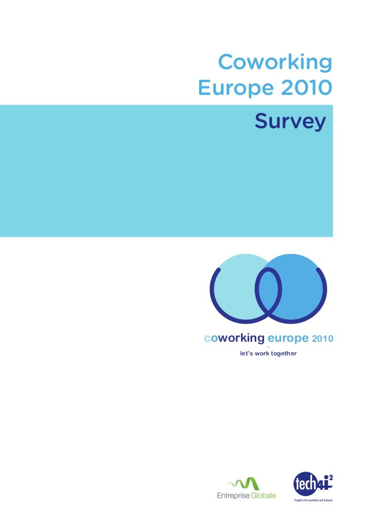Coworking Europe 2010 - Survey