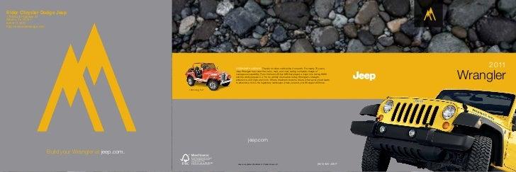 2011 Jeep  Wrangler Unlimited For Sale Near Tyler TX | Elder Chrysler Dodge Jeep