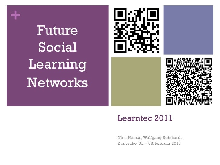 Future Social Learning  Networks at Learntec 2011