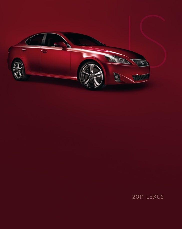 2011 Lexus IS Detroit
