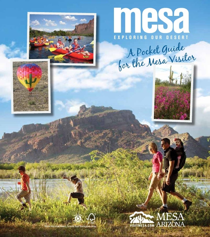 2011 Mesa Pocket Guide To The Sonoran Desert