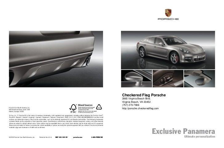 Checkered Flag Porsche                                                                                                    ...
