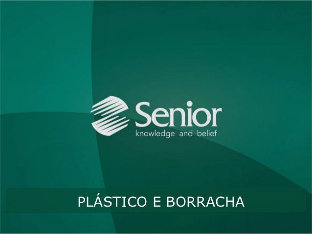 Senior - Segmento Plástico e Borracha