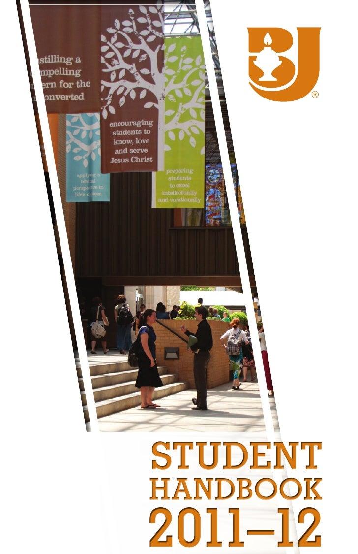 Studenthandbook2011–12