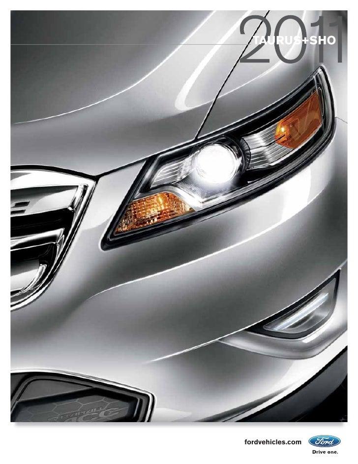 TAURUS+SHO     fordvehicles.com